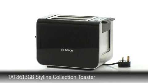 Bosch TAT8613GB Styline Collection Toaster
