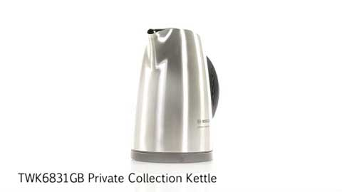Bosch TWK6831GB Private Collection Kettle