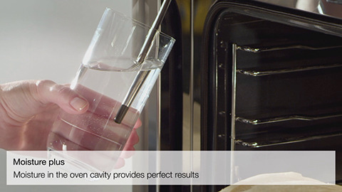 Miele MoisturePlus Oven Feature