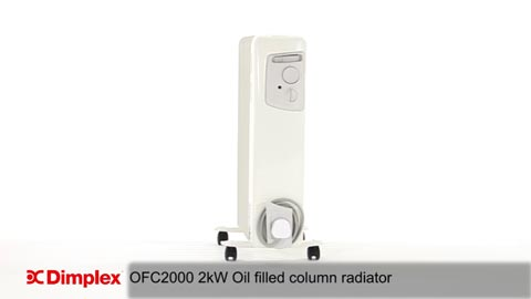 Dimplex OFC2000 Oil Filled Column Heater