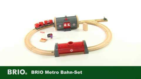 Scandi Toy Brio Metro Railway Station DE