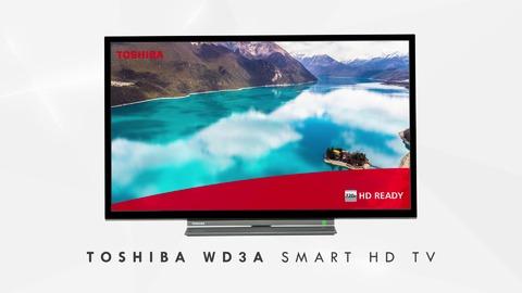"24"" Toshiba HD Ready TV Back Thumbnail"