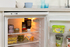 Indesit F077768 TLAA 10 Undercounter Fridge 201506 Open Close Up