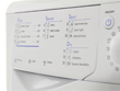 Indesit Washer Dryer IWDC6125 White L4