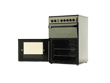 Indesit Electric Double Oven Cooker IDC60C2 Moonstone L6