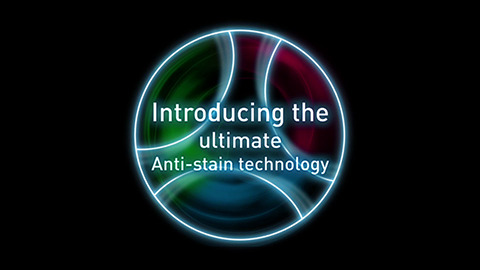 Hotpoint High Definition Anti Stain Technology